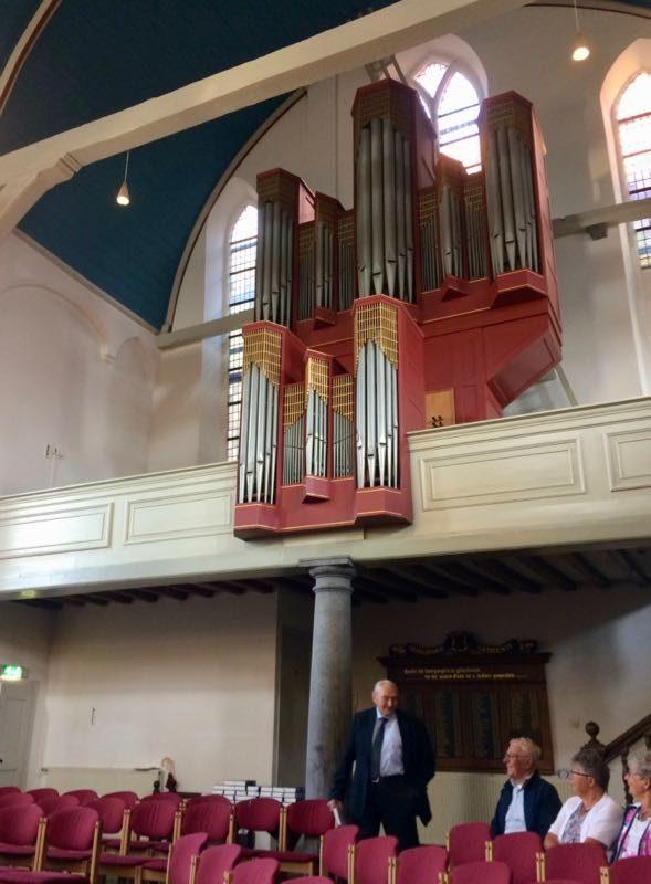 Het Marcussen-orgel in de Gasthuiskerk van Zierikzee