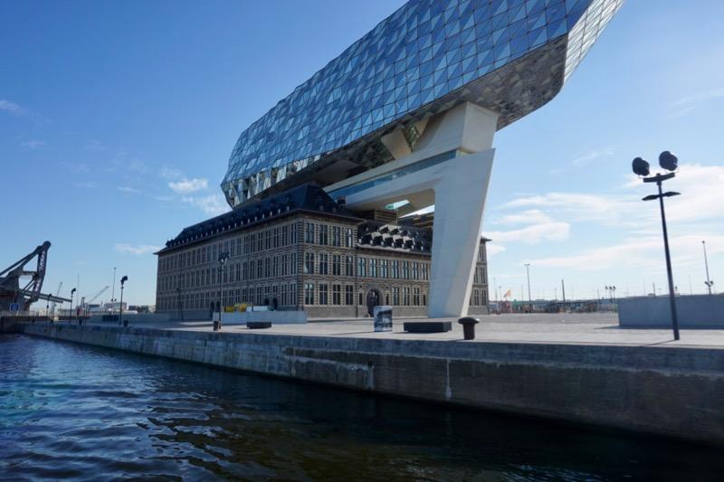 Een combinatie van oud en nieuw in het Havenhuis van Antwerpen