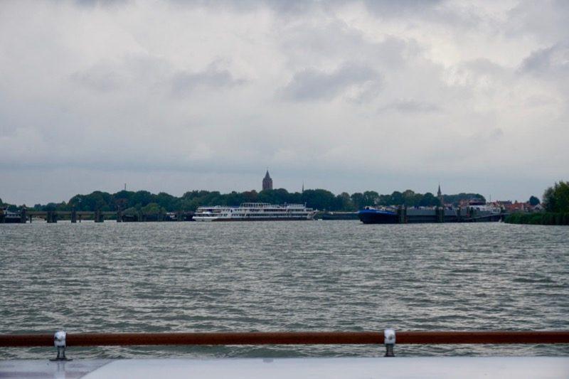 De vluchthaven voor de beroeps voor de haven van Tholen