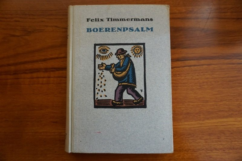 Het Vlaamse boek Boerenpsalm van Felix Timmermans