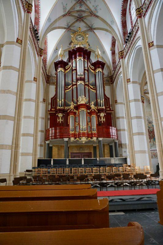 Het monumentale orgel van de Maartenskerk in Zaltbommel