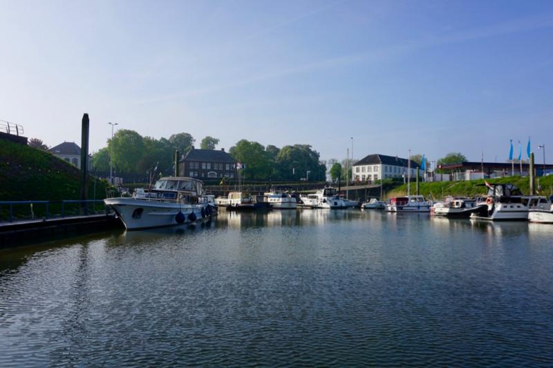 De jachthaven van WSV De Golfbreker in Zaltbommel