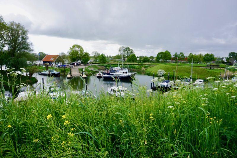 De jachthaven van Watersportvereniging Woudrichem