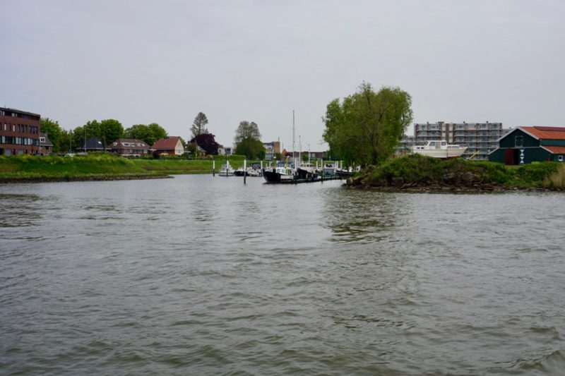 De jachthaven van Watersportvereniging Papendrecht