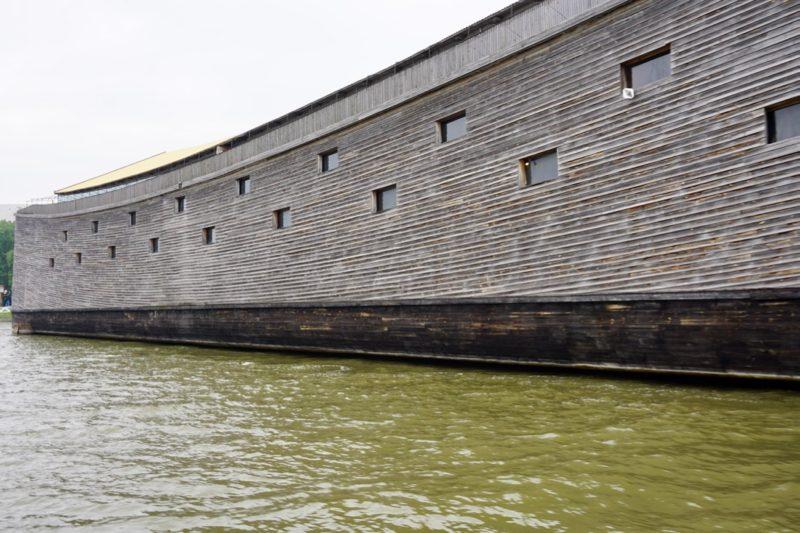 De replica van de Ark van Noach