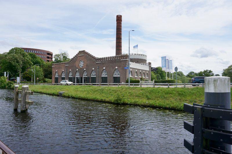 Het Stoomgemaal bij Cruquius aan de Ringvaart om de Haarlemmermeerpolder
