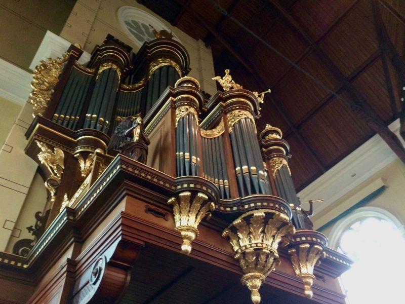 Het Van den Heuvel-orgel in de Nieuwe Kerk van Katwijk