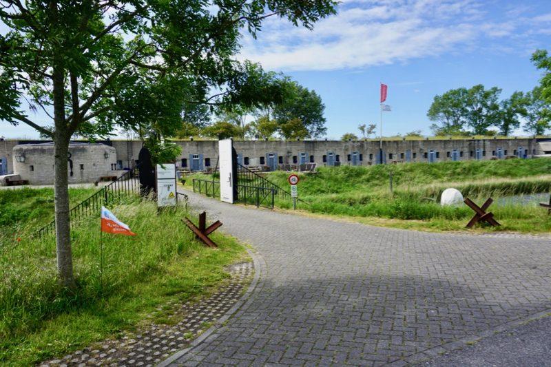 Het fort bij Vijfhuizen maakt deel uit van de Stelling van Amsterdam
