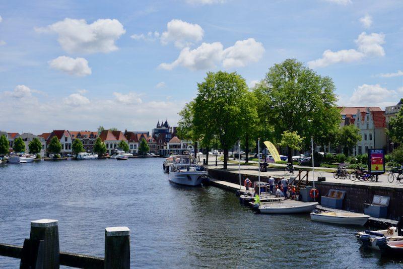 Aangemeerd in Haarlem