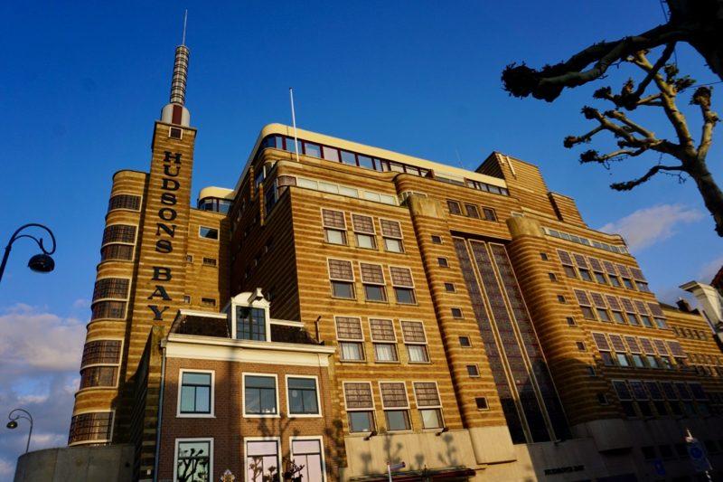 Het monumentale warenhuis in Haarlem