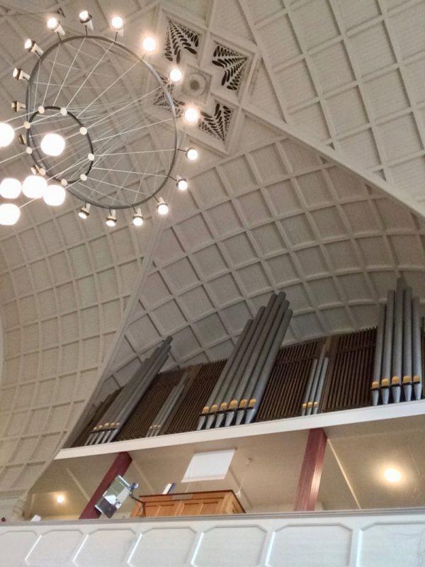 Het orgel in de Wilhelminakerk van Haarlem