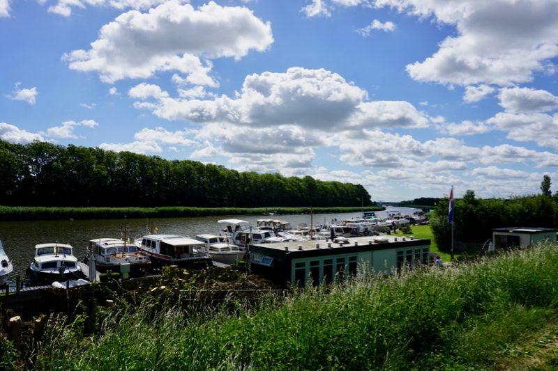 De Jachthaven van Nieuwesluis