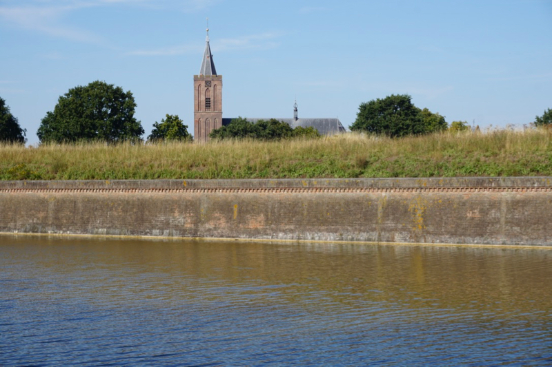 De Grote- of St.Vituskerk in de Vesting van Naarden