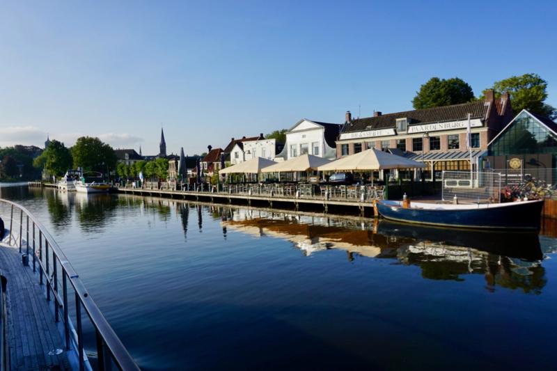 De aanmeerplaatsen in Ouderkerk aan de Amstel
