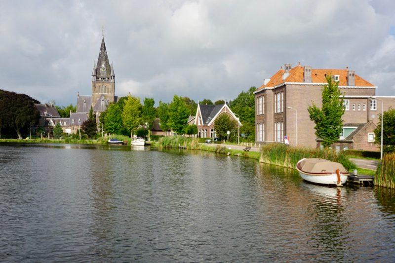 De grote kerk bij Nes aan de Amstel