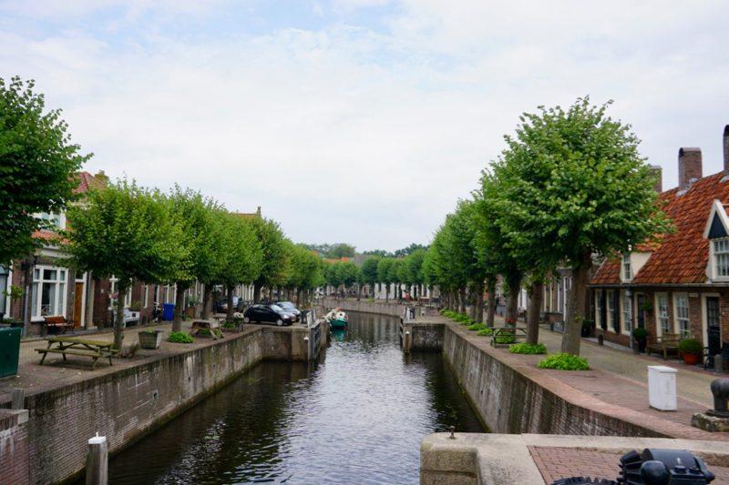 De gracht door de binnenstad van Hasselt