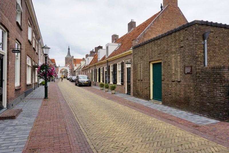 Straatbeeld van Hasselt