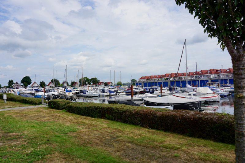 Jachthaven Molenwaard in de stad Hasselt