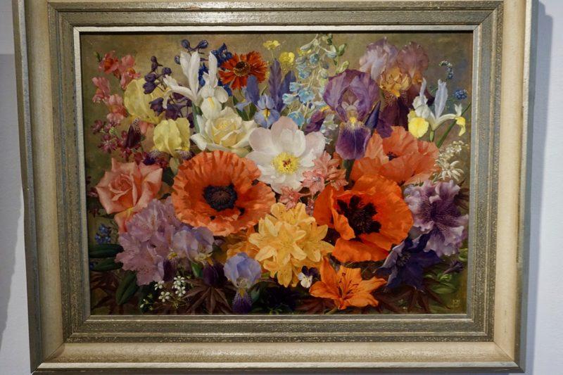Een schilderij van Jan Voerman jr. in het Voermanmuseum te Hattem